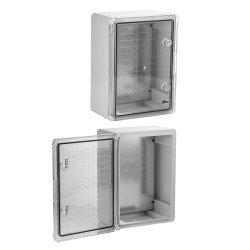 Plaque en polycarbonate transparent trait/é UV 3mm 400x500 mm