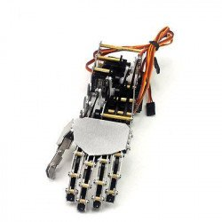 5DOF Robot Humanoid Five Fingers Metal Arm - Right