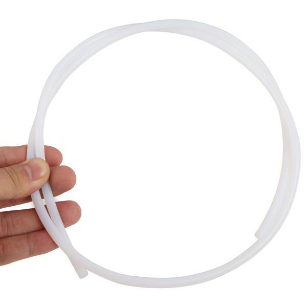 2mmx4mm White Teflon Tube Feeder Pipe for 1.75mm Filament
