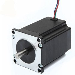 NEMA23 Stepper Motor With Connector & 1m Cable - 57HS76-3004