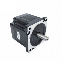 NEMA34, 4.5Nm Stepper Motor With Connector & 1m Cable - 86HS82-4504