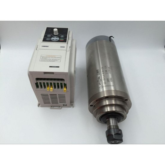 KIT Spindle Motor  220V / 5.5KW Water-Cooled, GDZ125-5.5