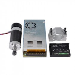Kit CNC Spindle, 500W, ER11, DC48V, 12000RPM
