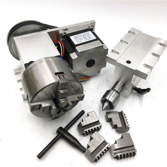 nema 34 CNC 4th axis 5M-3-100B+ tailstock