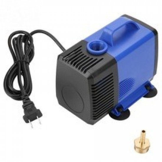 CNC Router Spindle Water Cooling Pump 80W AC220V