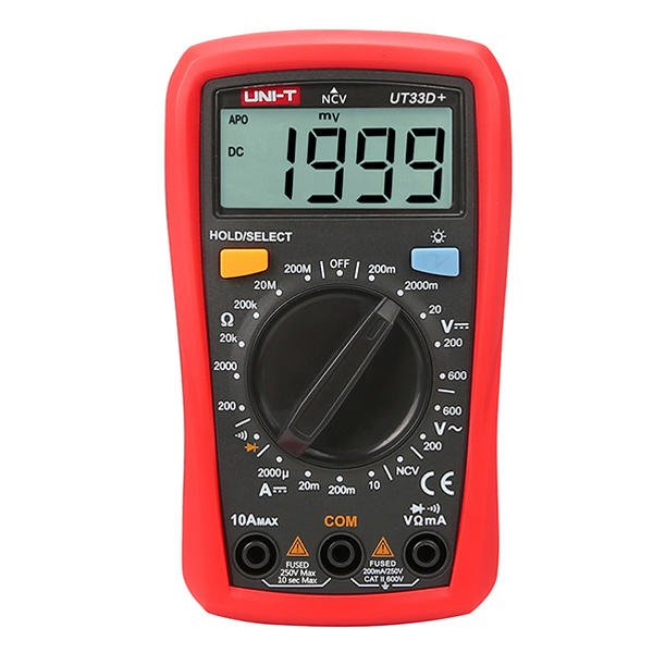 UNI-T UT33D+  Digital Multimeter
