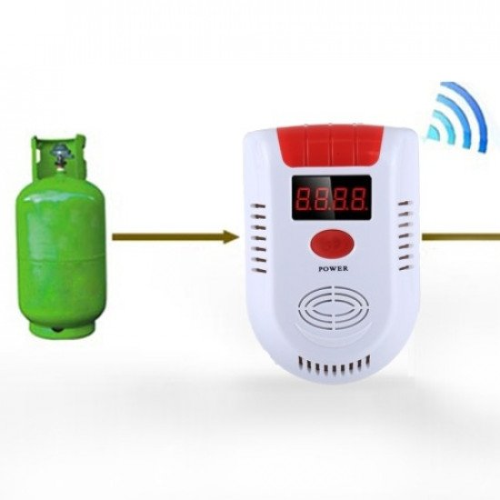 Voice-type Sound and Light Explosive Gas Detector Alarm