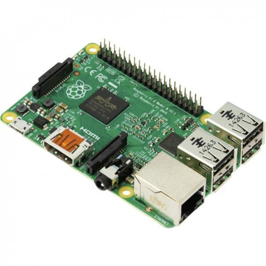 UK-Raspberry Pi 4 Model B, BCM2711 SoC, 1GB DDR4 RAM, USB 3.0, PoE Enabled