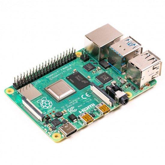 UK-Raspberry Pi 4 Model B, BCM2711 SoC, 2GB DDR4 RAM, USB 3.0, PoE Enabled