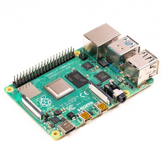 UK-Raspberry Pi 4 Model B, BCM2711 SoC, 4GB DDR4 RAM, USB 3.0, PoE Enabled