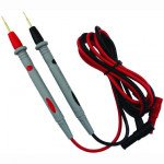 CAT III 1000V 20A Silicone Wire Probe Test Leads Pin for Digital Multimeter