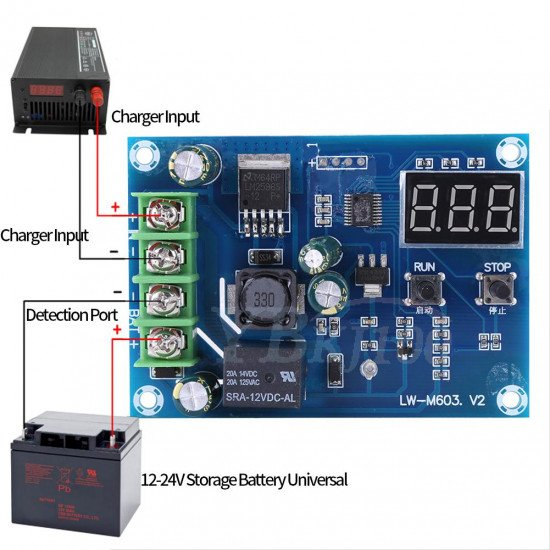 XH-M603 lithium battery charge controler