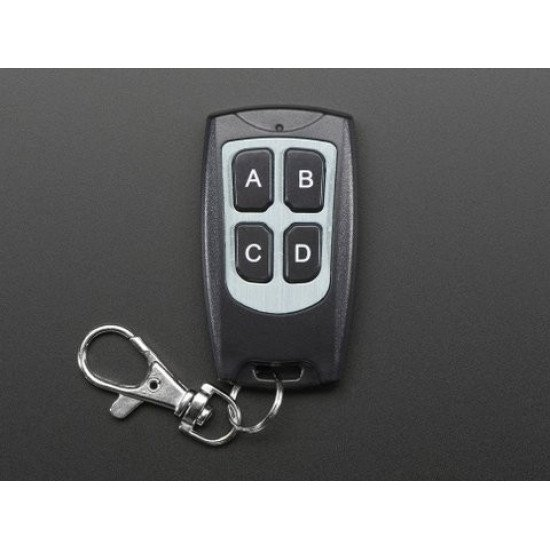 waterproof 4key remote controller 315Mhz
