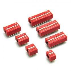 DIY ON//OFF Lot de 2x Interrupteur 2 positions 6 Pin 9 x 3,5mm Arduino Switch
