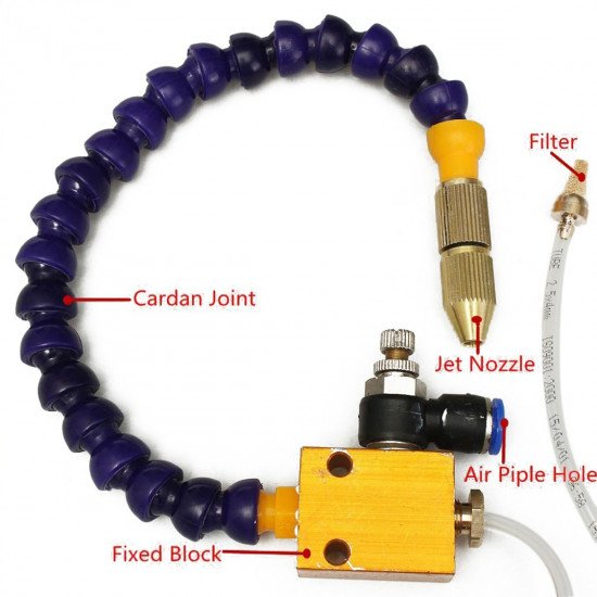 Coolant Lubrication Spray System For 8mm Air Pipe