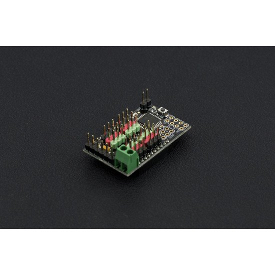 Flyduino-A 12 Servo Controller with xbee ( Arduino Compatible )