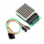 MAX7219 Dot Matrix Module MCU LED Control Module Kit For Arduino