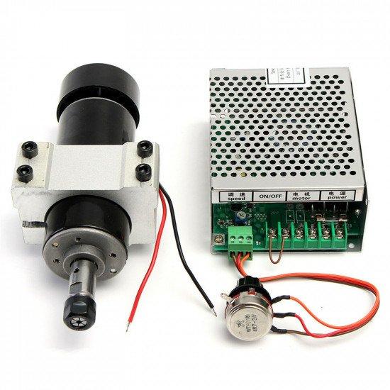Kit CNC Spindle, 500W, ER11, DC48V, 12000RPM
