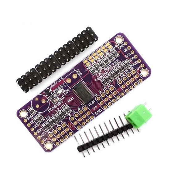 16-Channel 12-bit PWM/Servo Driver PCA9685 Module