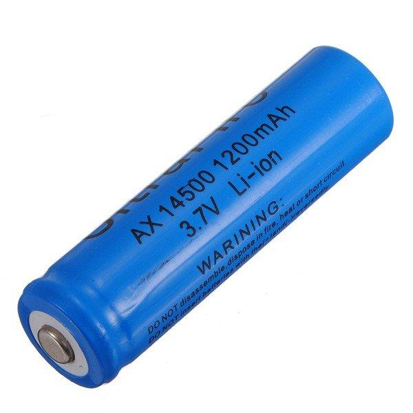 3.7V 1200mAh Lithium Batteries Blue