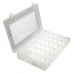 Plastic storage box 103-132D