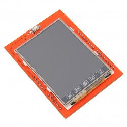 Arduino UNO TFT 2.4 inch white screen