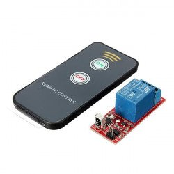Infrared remote control relay module - 2 key