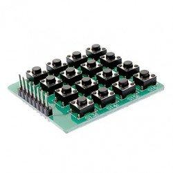 Micro Switch 4X4 Matrix Keyboard
