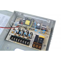 12V 5A, 4CH Power Supply Box for CCTV Camera System