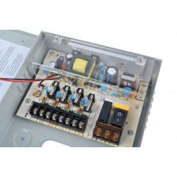 12V 5A, 4CH Power Supply Box for CCTV Camera System