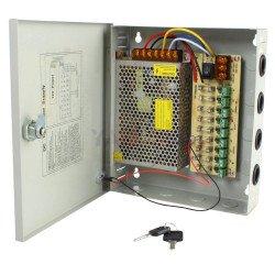 12V 10A, 9 Output For Camera