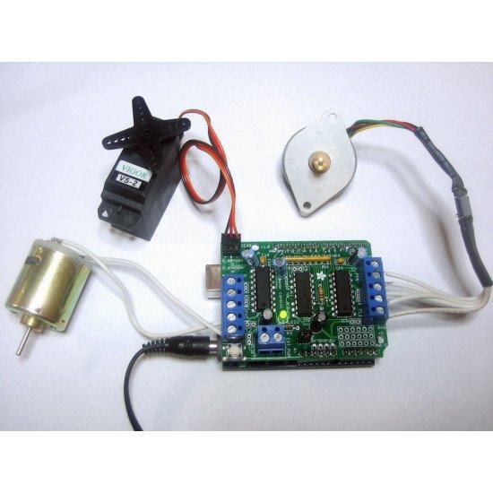 Motor Control Shield (L293D Motor Driver)