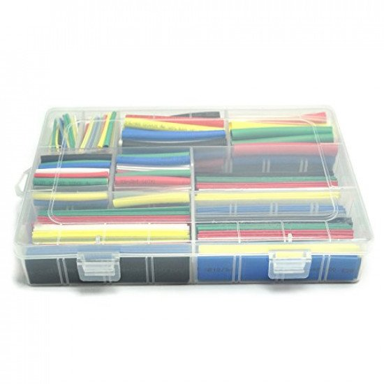 385pcs/lot Heat Shrink Tubing set 9 sizes 7 colors